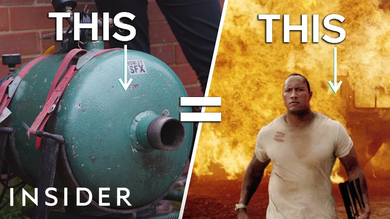 How Real Explosions Are Made For Movies And TV | Movies Insider | Video