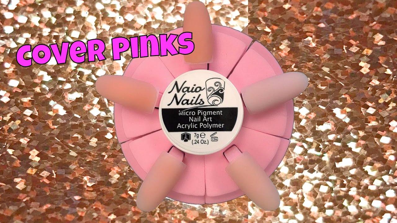 Naio Nails Foundation Acrylic Cover Powders