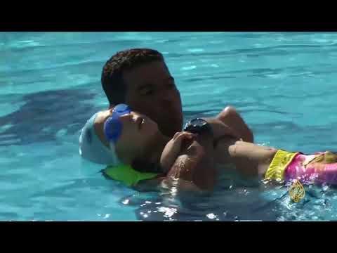 هذا الصباح- طفل مصاب بمتلازمة تفقم الأطراف يجيد السباحة  - 12:23-2018 / 8 / 12