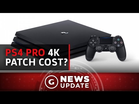 ps4 pro 4k hdr patches could cost money update gs news. Black Bedroom Furniture Sets. Home Design Ideas