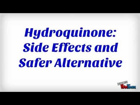 Hydroquinone: Side Effects and Safer Alternative - YouTube