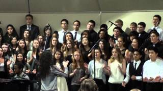 """We lift Our Hands In The Sanctuary"" by PSAA Choir 2-23-13"