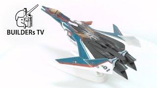 MACROSS DELTA VF-31S Fast Build Up (마크로스 델타 VF-31S 빠른 조립 리뷰,  マクロスシリーズ マクロスデルタ VF-31S )