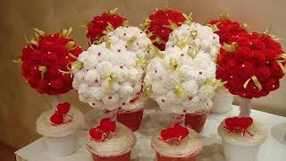 из чего можно сделать цветы своими руками