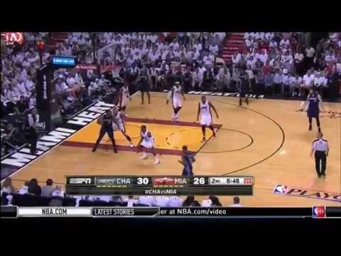 April 20, 2014 - TNT - Playoffs Rd.1 Game 01 Miami Heat Vs Charlotte Bobcats - Win (01-00)