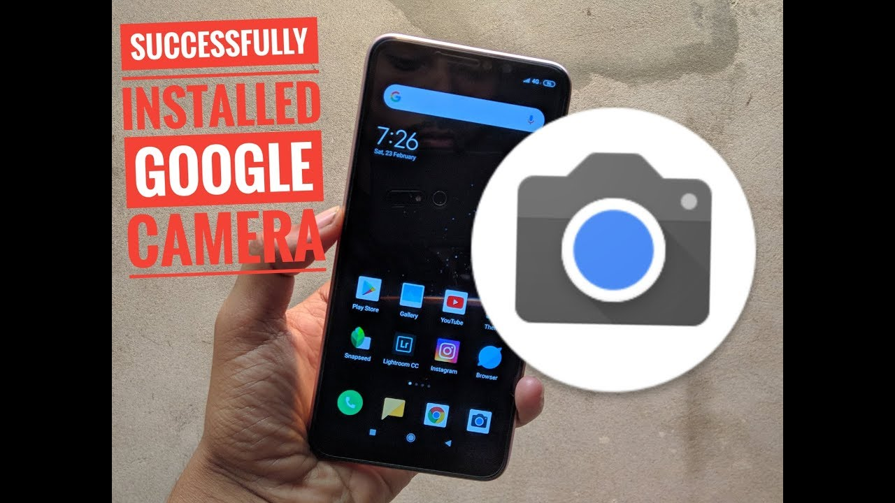 How to install GOOGLE CAMERA Redmi Note 6 Pro | Easy Method | No Root| No  TWRP | Enable Camera2Api