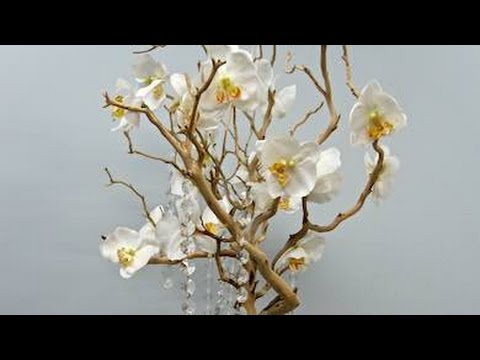 Manzanita Tree Table Centerpiece Wedding Flower Ideas Youtube