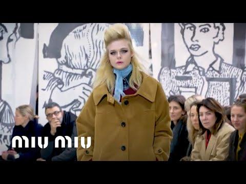 47894de98ee4 Miu Miu Fall Winter 2018 Fashion Show - YouTube