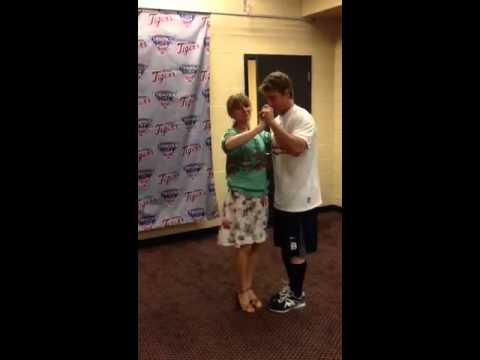 Andy Dirks dancing
