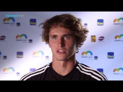 Alexander Zverev Interview