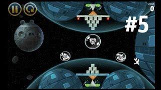 ЭНГРИ БЕРДЗ ЗВЕЗДНЫЕ ВОЙНЫ 5 серия игры Angry Birds Star Wars 5