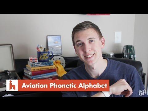 Aviation Phonetic Alphabet Explained