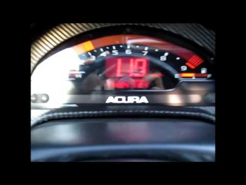 RSX Type-S with a JDM S2000 Cluster.