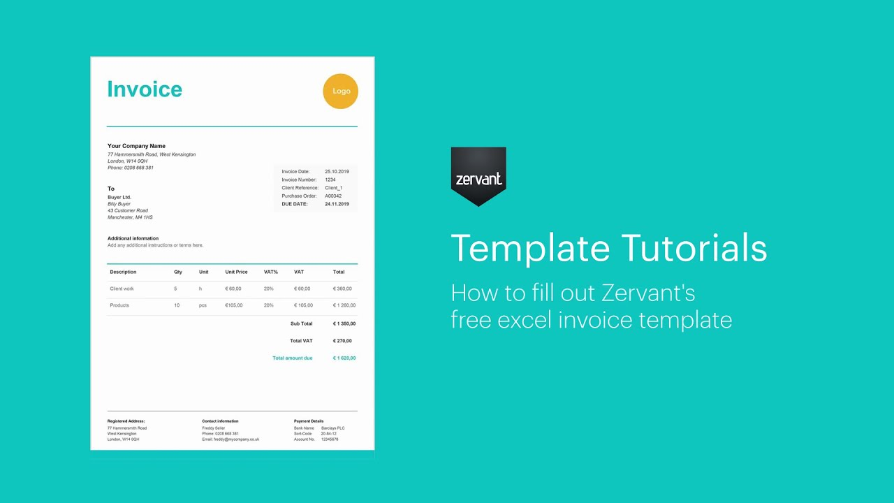 Free Invoice Templates Uk Templates In Word Excel Pdf