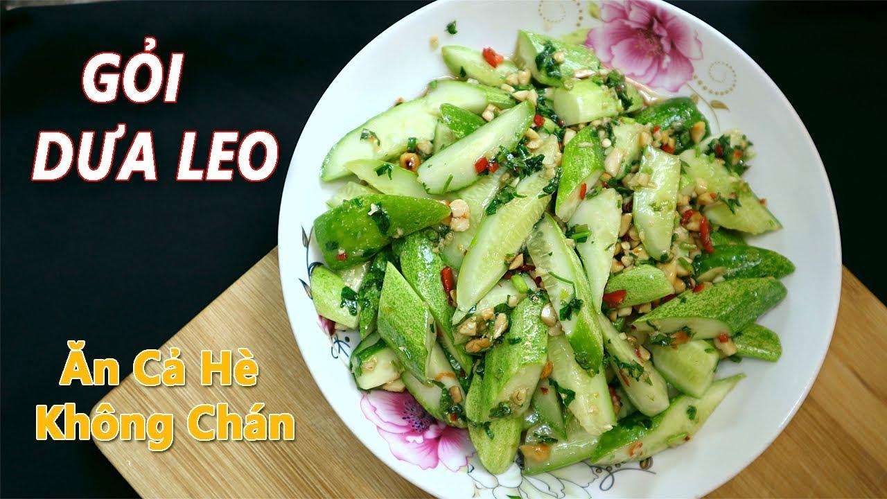 Gỏi Dưa Chuột Giòn Tan – Smacked Cucumber