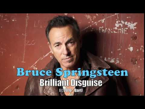 Bruce Springsteen - Brilliant Disguise (Karaoke)