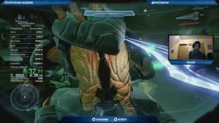 Halo 5 Legendary Full Game World Record Speedrun 1h29m18s (1h37m01s RTA)