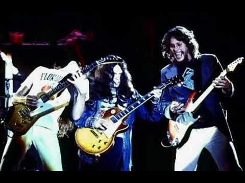 Lynyrd Skynyrd- Steve Gaines Allen Collins Gary Rossington/ Living Room Jam 1976