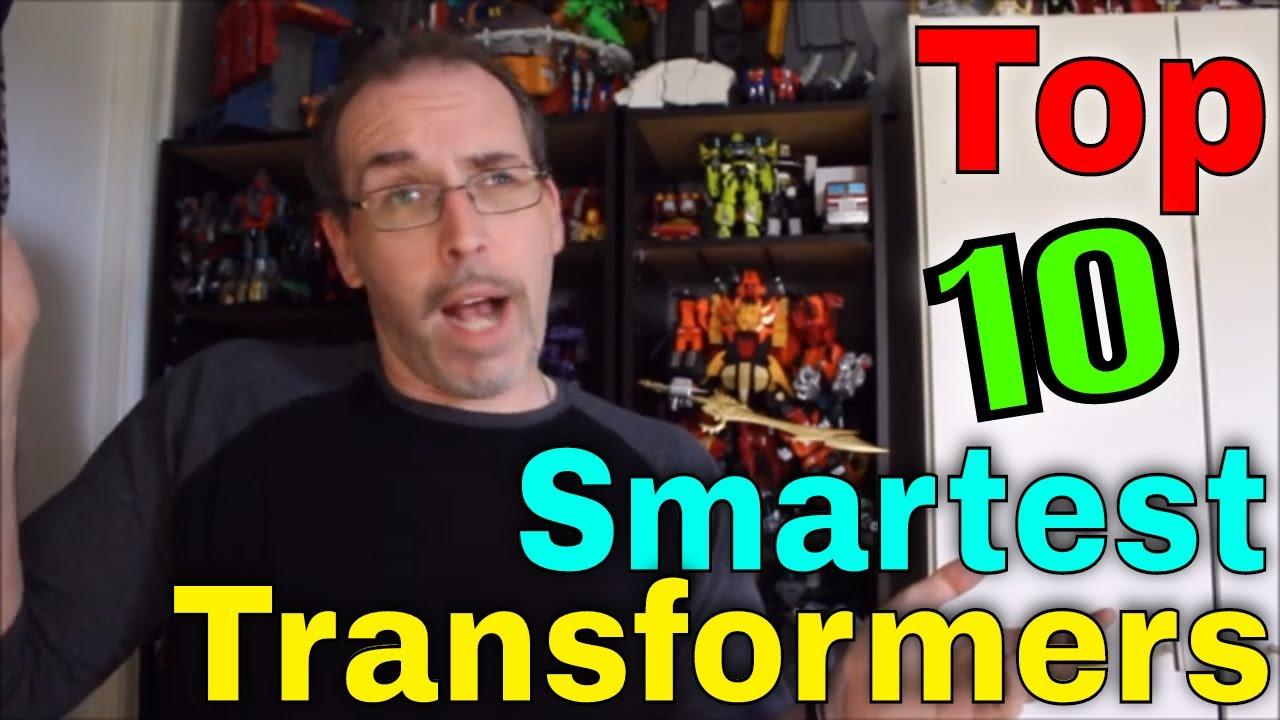 GotBot Counts Down: Top 10 Smartest Transformers