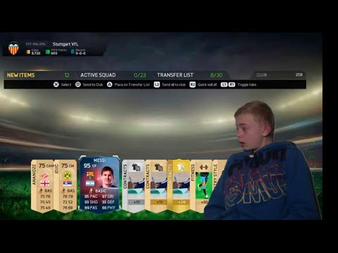 FiFA 15 Messi RB???!!!! 270k Pack Opening