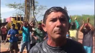 Em Afonso Bezerra-RN: + 3 poços perfurados em comunidades rurais. Em 2020, foram 1,2 mil no Nordeste