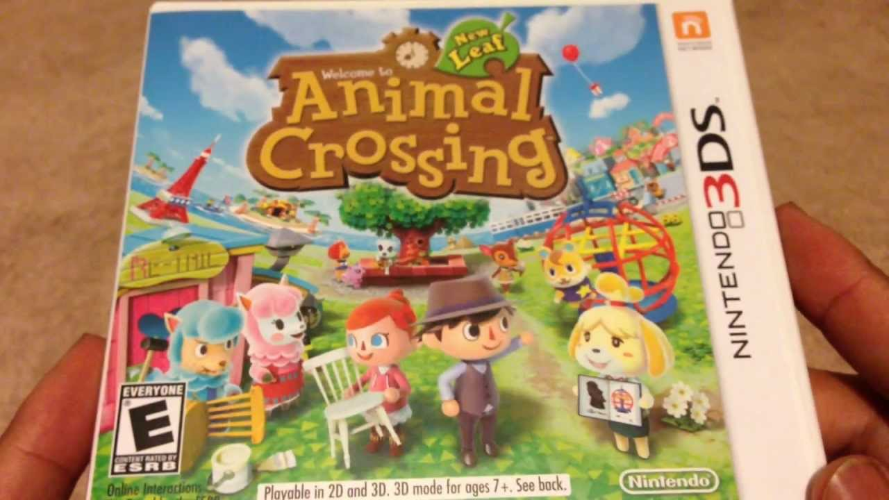 Animal Crossing New Leaf Unboxing (3DS)
