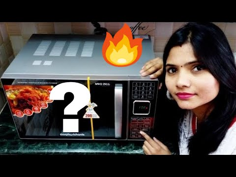 How to bake a cake in microwave oven with convection