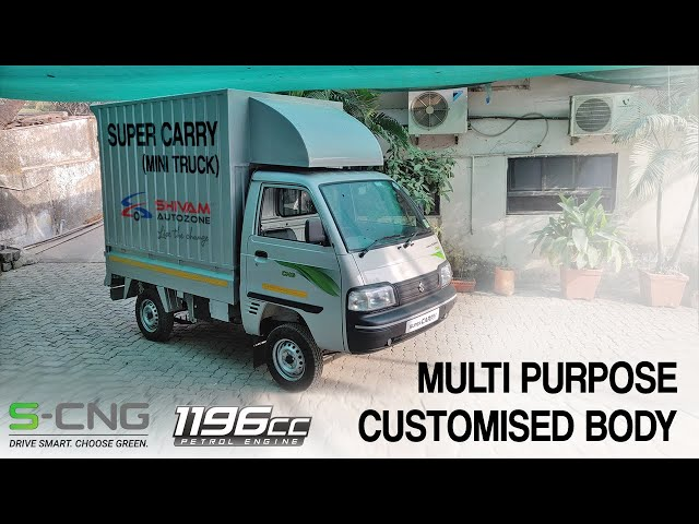 Super Carry S-CNG 1196cc 2020 - Multipurpose Customised Body