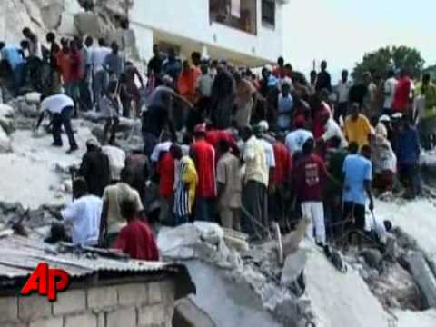 Dozens Dead in Hatian School Collapse