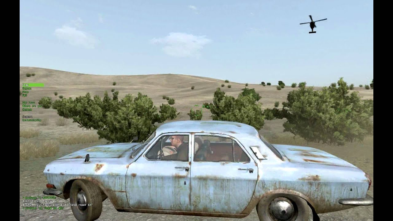 """Arma 2: Takistan Life Drug Running- """"Those suitcases were"""