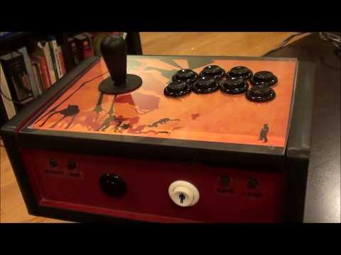 completed!-wireless-original-xbox-arcade-stick-for-coinops,-premium,-ninja--