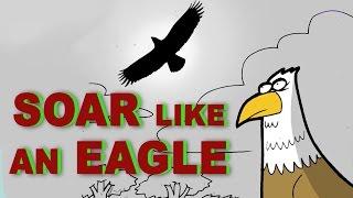 Motivational Cartoon | Dare To Soar Like an Eagle