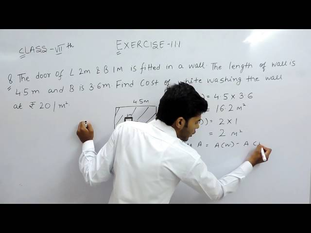 Exercise 11.1 - Question 8 NCERT Solutions for Class 7th Maths Perimeter and Area