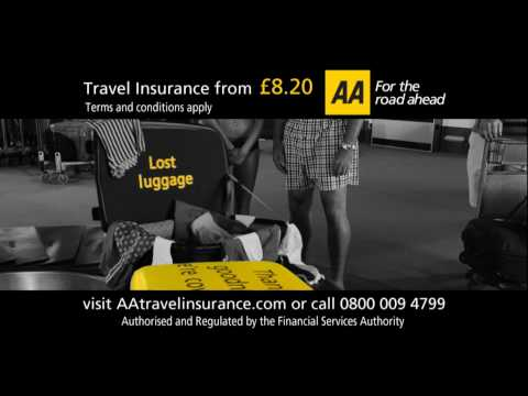 AA Travel Insurance - Because Holidays Breakdown Too (v1)