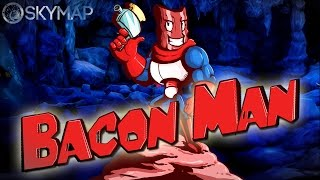Are you hungry for Bacon!? - Bacon Man: An Adventure - First Look Gameplay