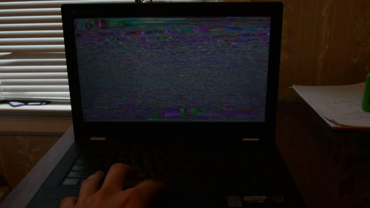 Lenovo laptop screen flickering