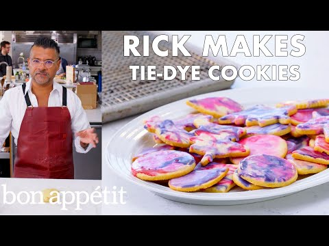 Rick Makes Tie-Dye Cookies | From the Test Kitchen | Bon Appétit