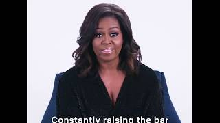 Michelle Obama proud of Beyonce.