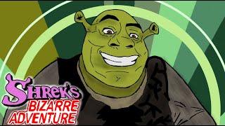 Shrek's bizarre adventure Op『BLOODY SHREK』( jojo part 2 op Bloody Stream paint parody )