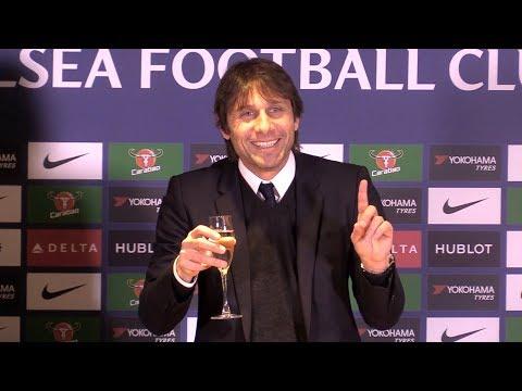Chelsea 2-0 Brighton - Antonio Conte Post Match Press Conference - Premier League #CHEBRI
