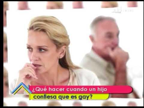 ¿Qué hacer cuando un hijo confiesa que es gay?