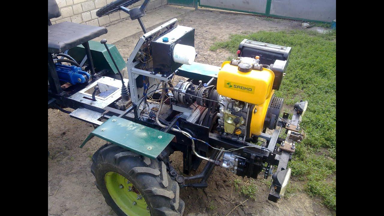Самодельная гидравлика на самодельный трактор