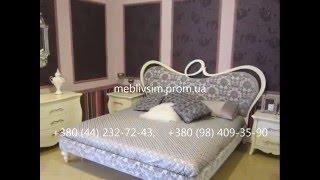 Белые спальни. Спальня Tiffany (Тиффани) . Мебель Decorosso Mobili (Италия)(, 2013-10-25T20:37:24.000Z)