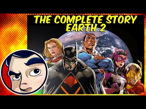 "Earth 2 ""The Death of Superman, Batman, Wonder Woman"" - Complete Story"