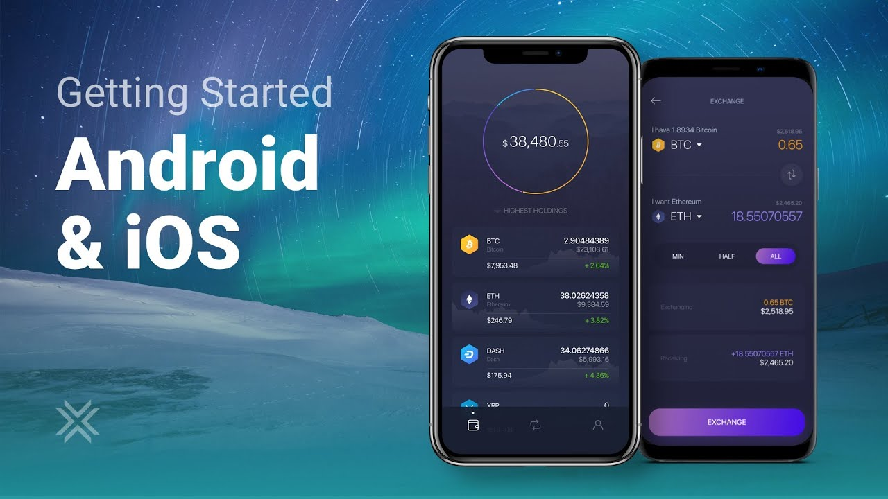 exodus wallet android)