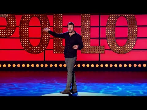 Rhod Gilbert Electrician Sketch  Live at the Apollo  BBC