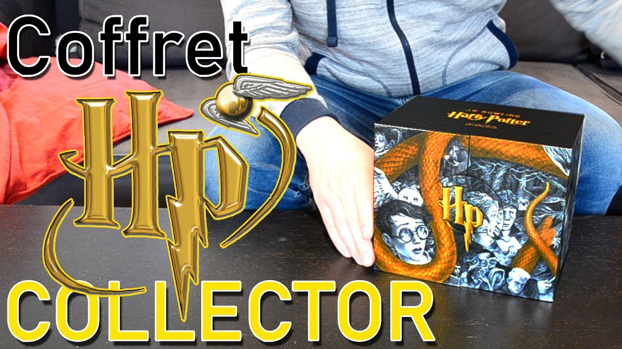 Harry Potter Le Coffret Collector Gallimard