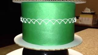 How To Do Royal Icing Oriental String Work