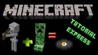 Minecraft Xbox360 - Tutorial Express - Conseguir DISCOS fácil en Survival