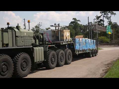 14th Marines and MWSS-473 transport supplies to Hurricane relief efforts [Part 1]